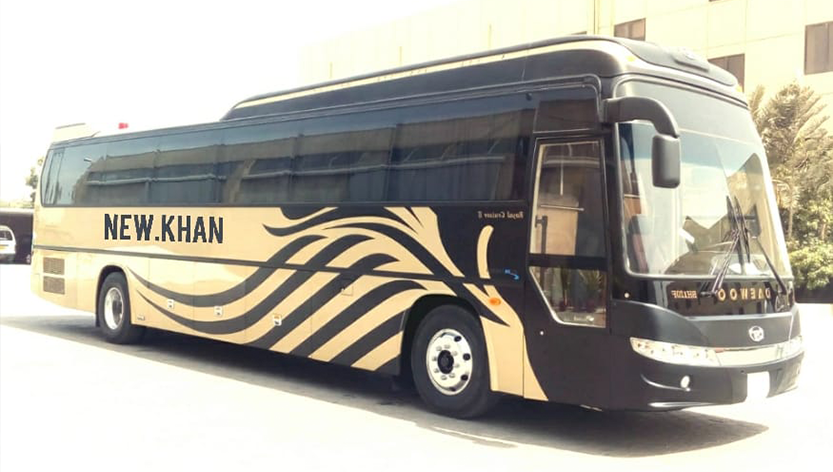 new khan bus service