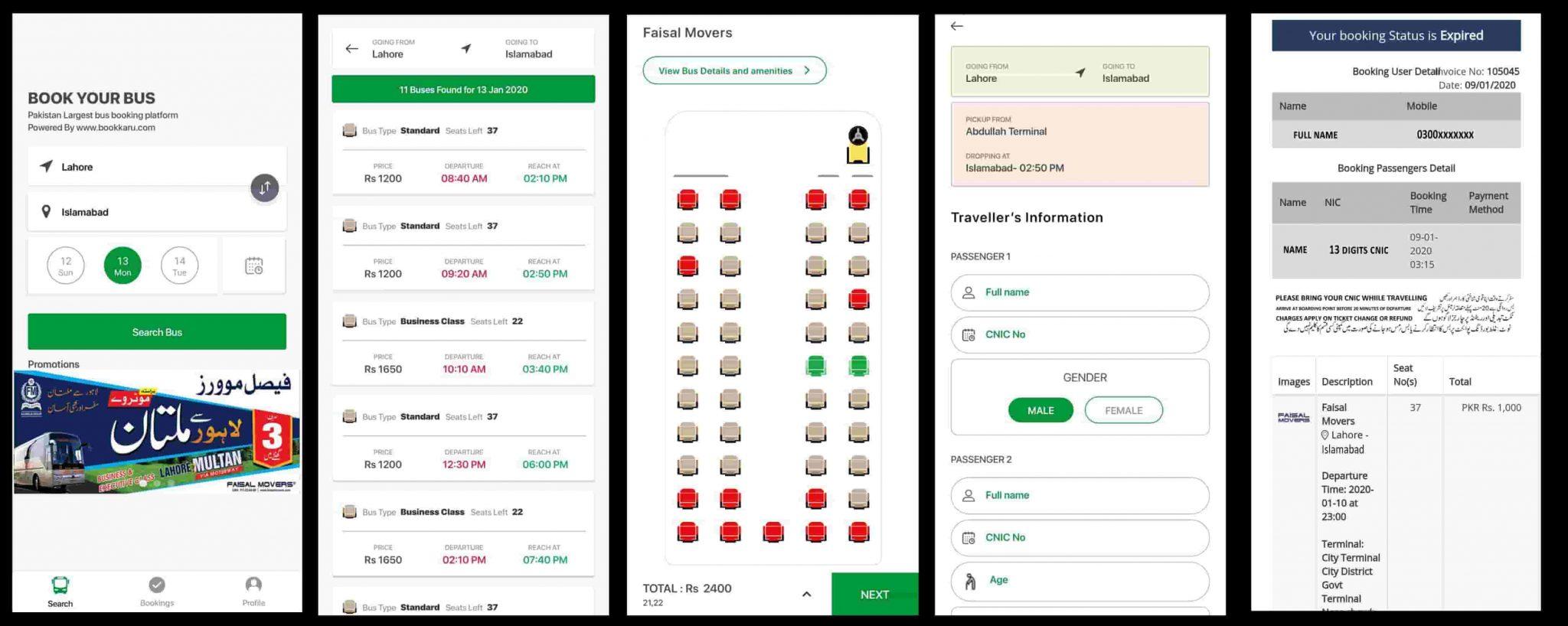 faisal mvoers online booking apps