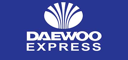 daweoo express logo fares
